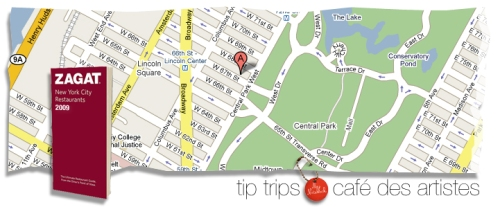 TT cafe des artistes MAP