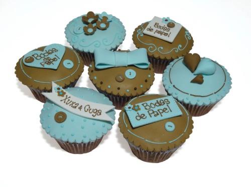 Muffins (ou cupcakes) da Lis Fonseca