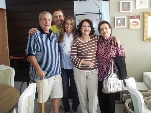 Dia muito especial com a família que mais amo nesse mundo!
